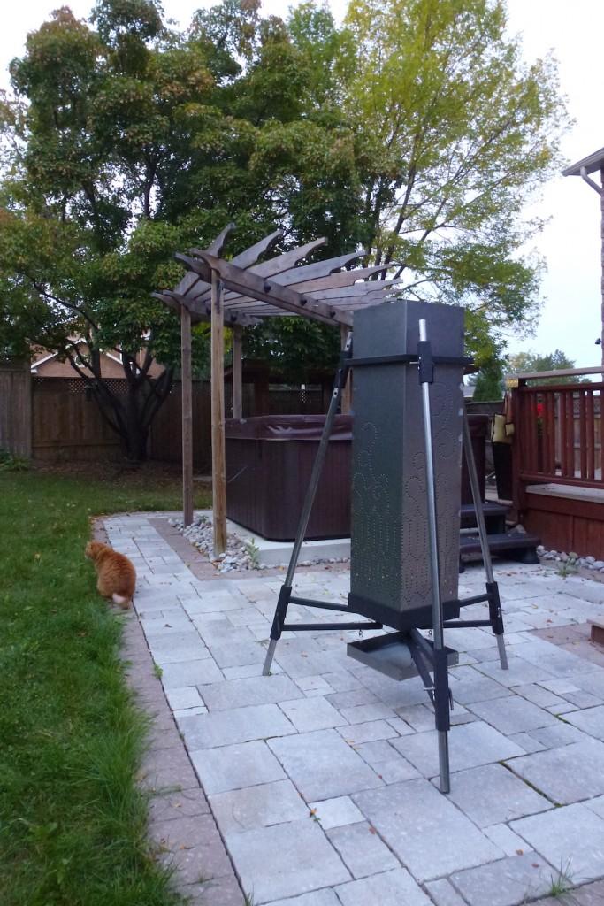 QnA Design Fire Tower 06 Medium size backyard