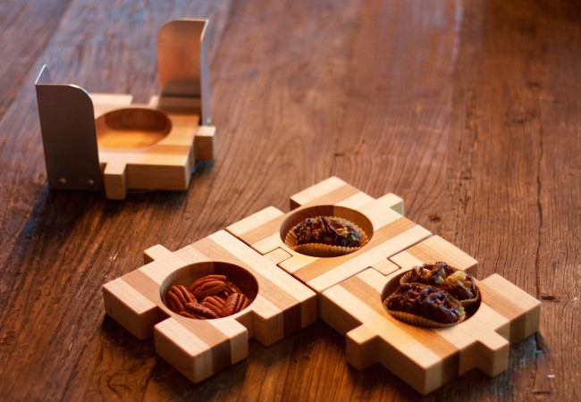 QnA Design NakedDates Tapas Puzzle set
