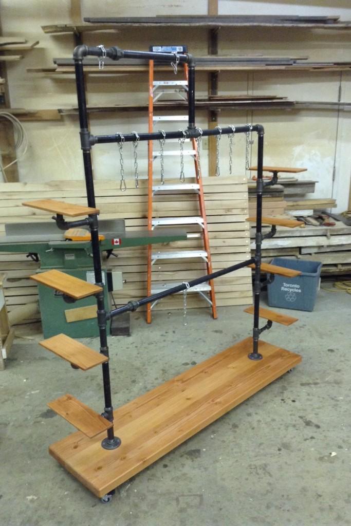 QnA Design Blundstone shoe rack 04 in shop