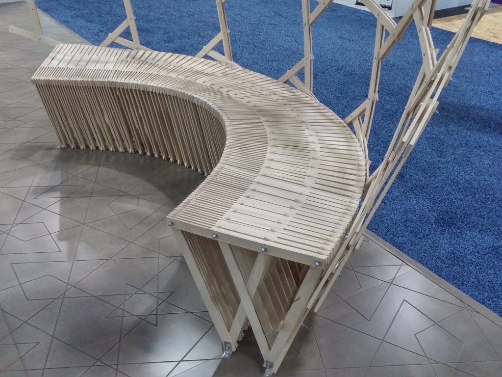 QnA Design Booth AyA IBS 16 Bench