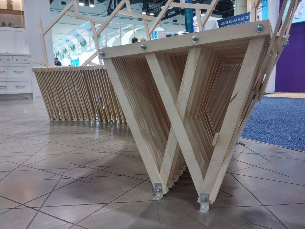 QnA Design Booth AyA IBS 17 Bench