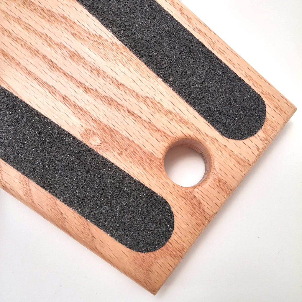 QnA Design Bootjack Red Oak 04 Detail