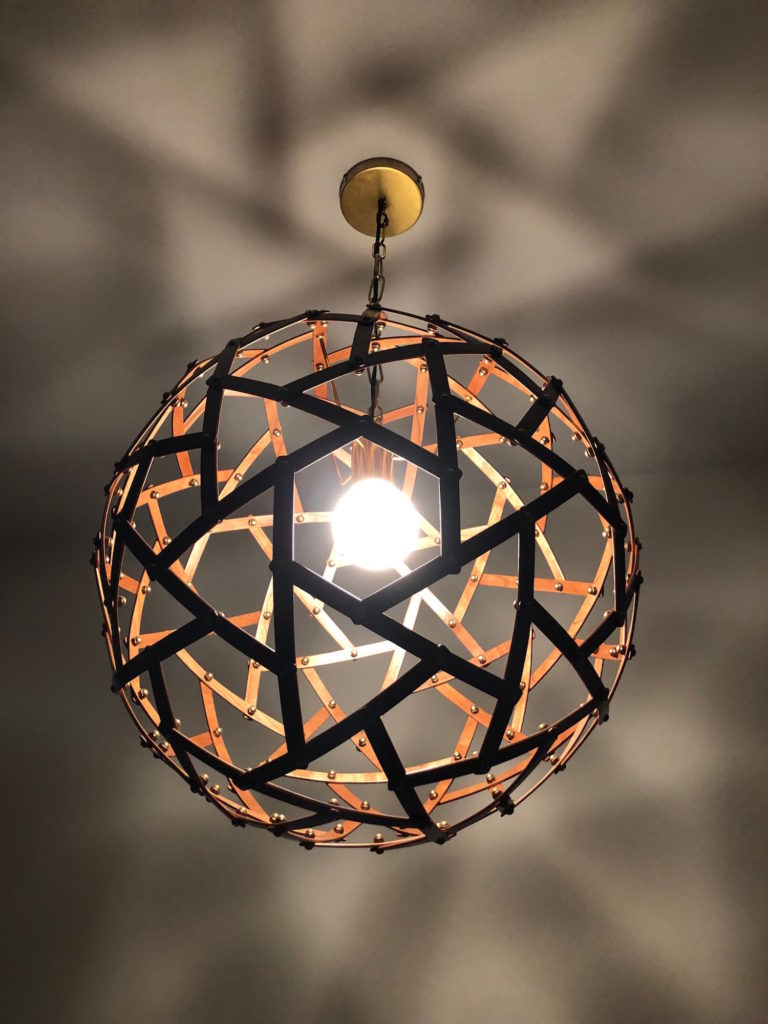 QnA Design Physalis hanging lamp