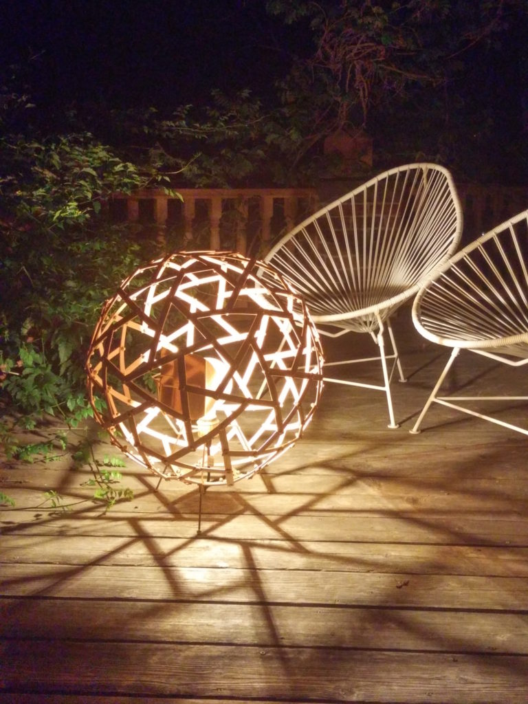QnA Design Physalis lamp 02 by night