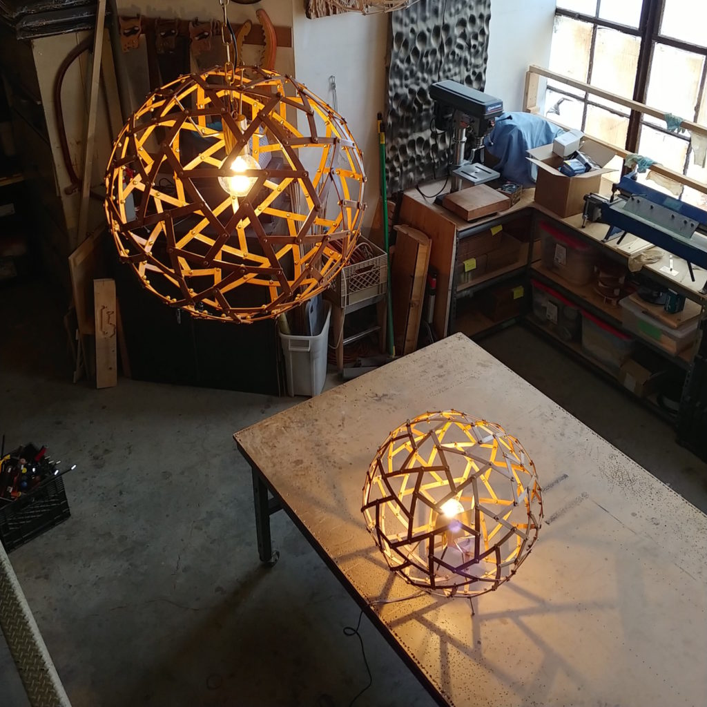QnA Design Physalis lamp 04 pendant floor studio