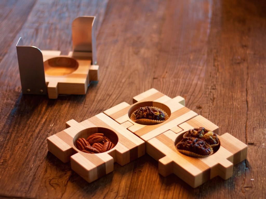 QnA Design NakedDates Tapas Puzzle set