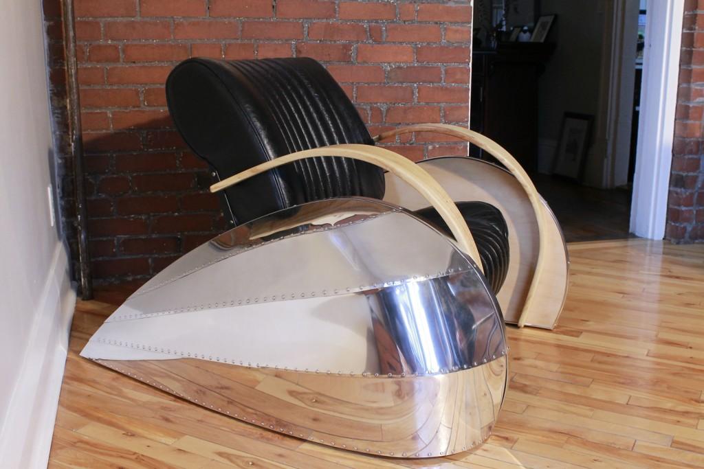 QnA Design Transatlantic DS Seat 03 left view