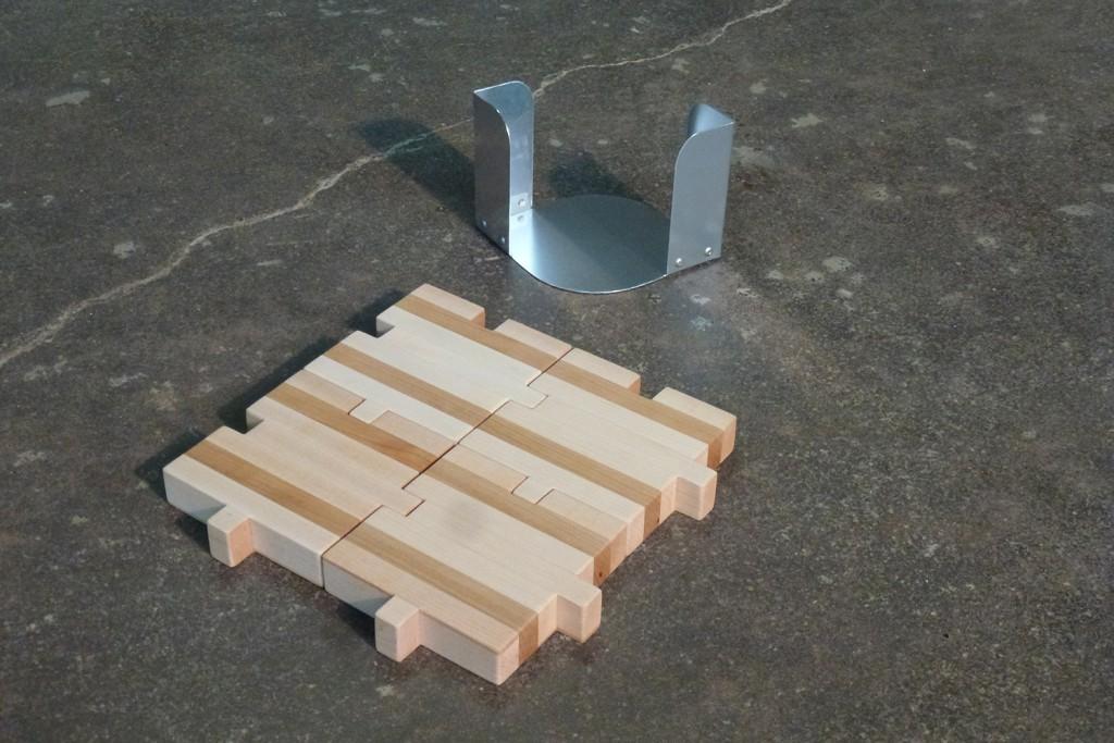 QnA Design Wood Puzzle Tapas Display 03 square