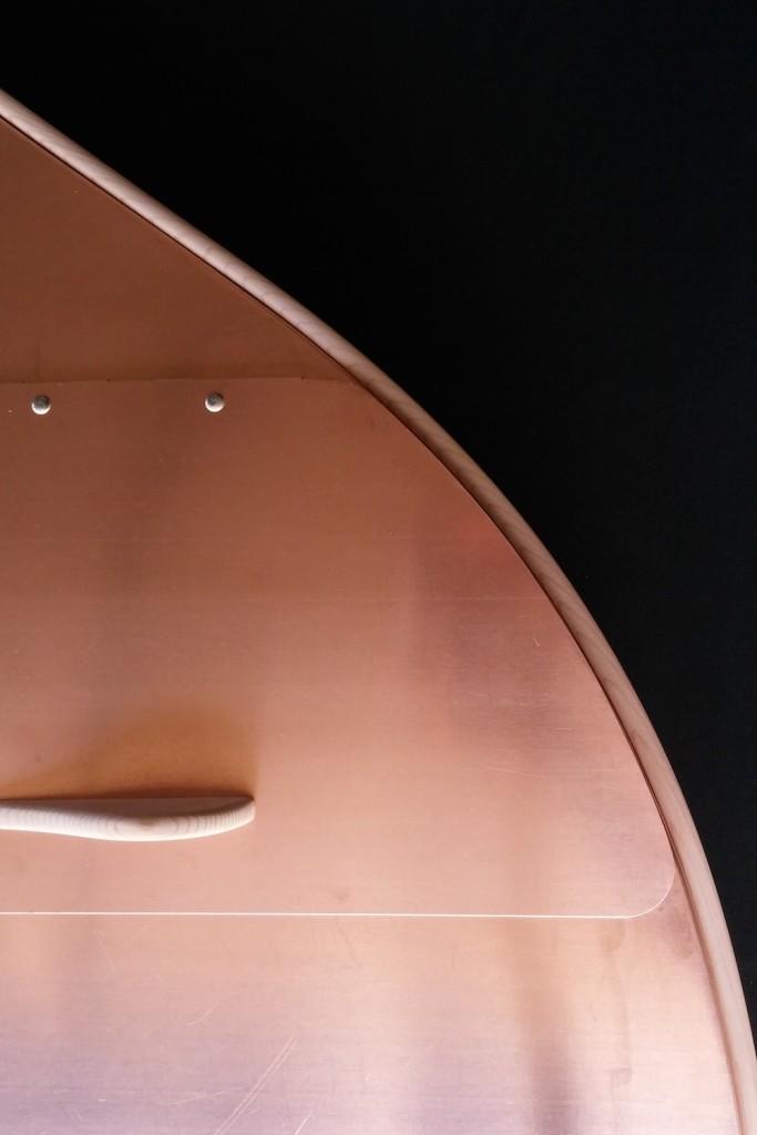 QnA Design Copper Mailbox 03 curves