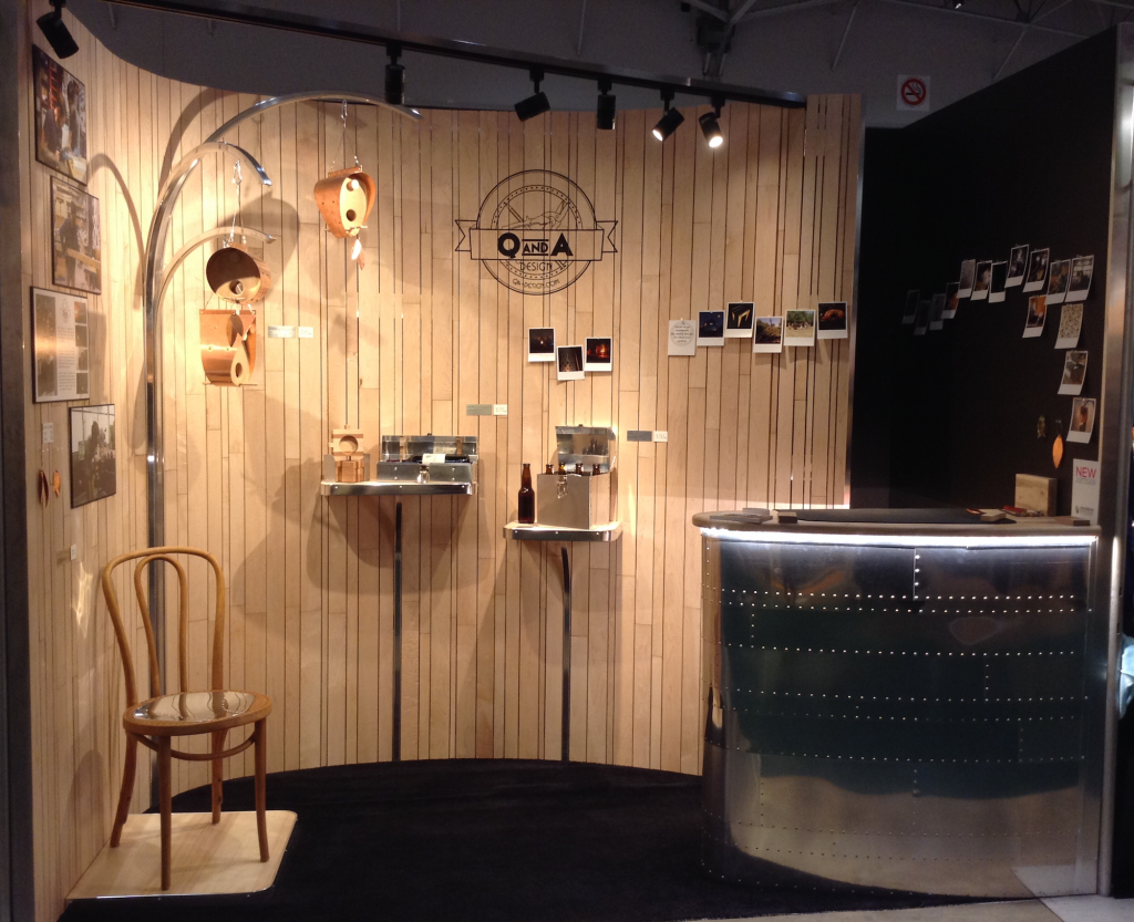 One Of A Kind Christmas Show 2016 U2013 Toronto. Qna Design  Ooakx2016 Booth Maple Wall Aluminum Stand