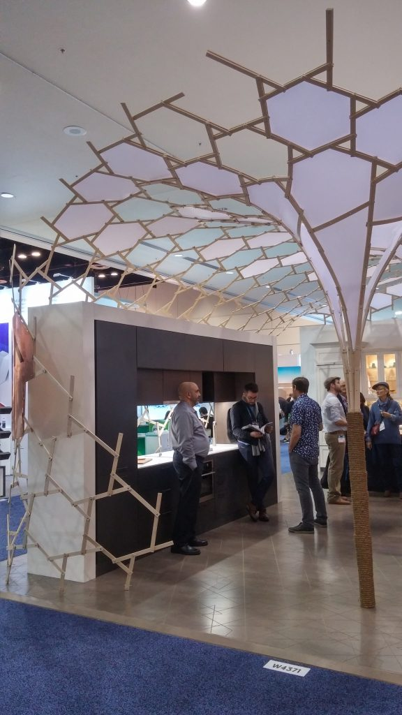 QnA Design Booth AyA IBS 11 wrapping