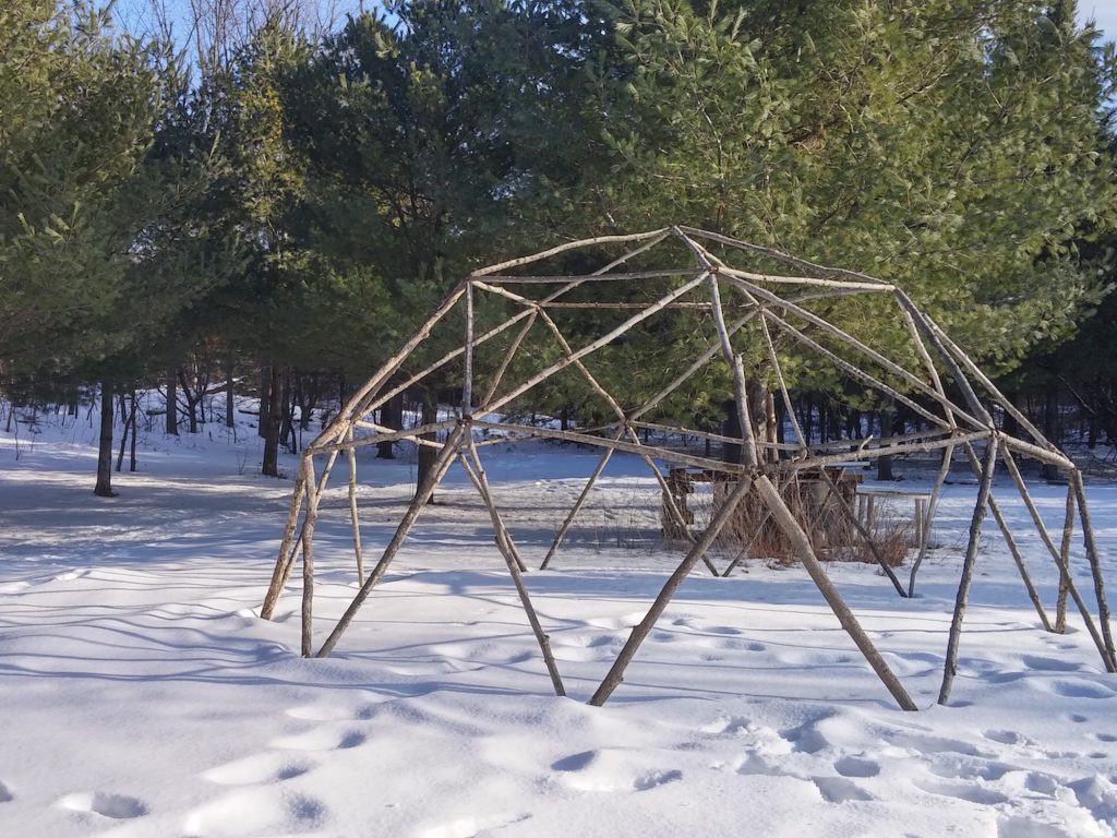 QnA Design Geodesic Dome outdoor activity family campout 10 overall