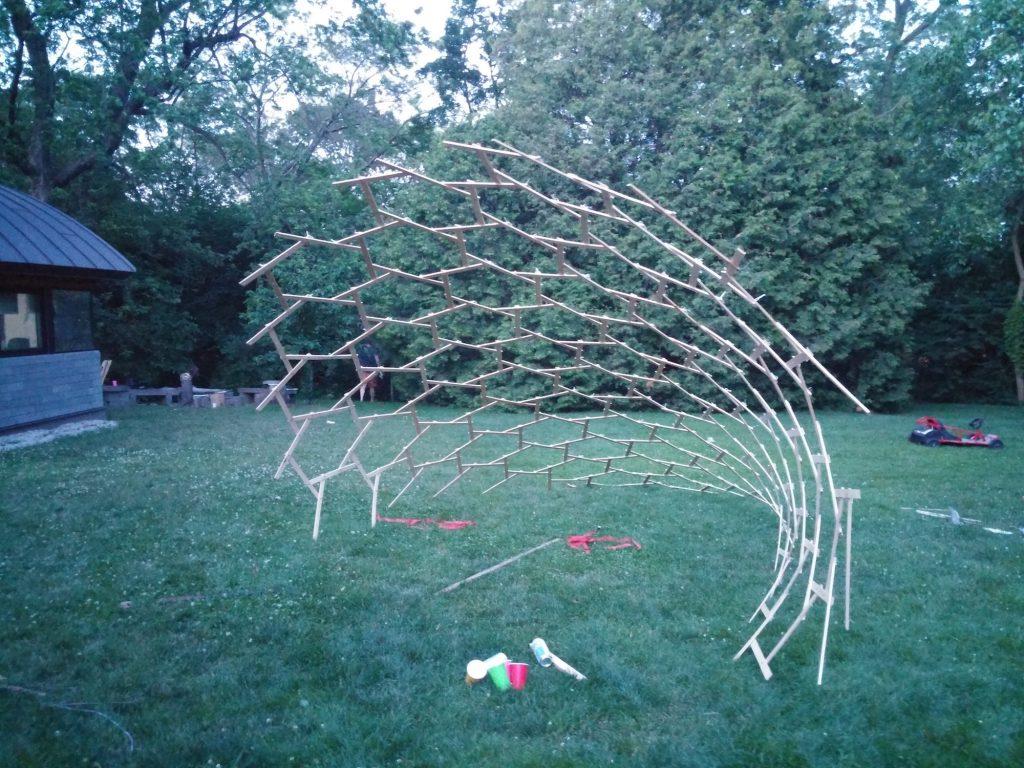 QnA Design reciprocal structure tests 14
