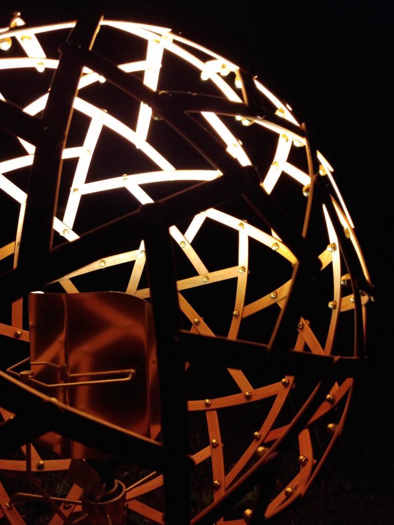 QnA Design Physalis floor lamp outdoor