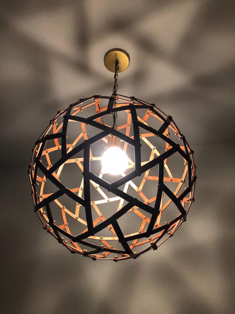 QnA Design Physalis hanging lamp